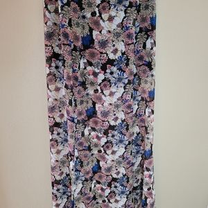 Floral spring Palazzo Pants, blue, pink & …